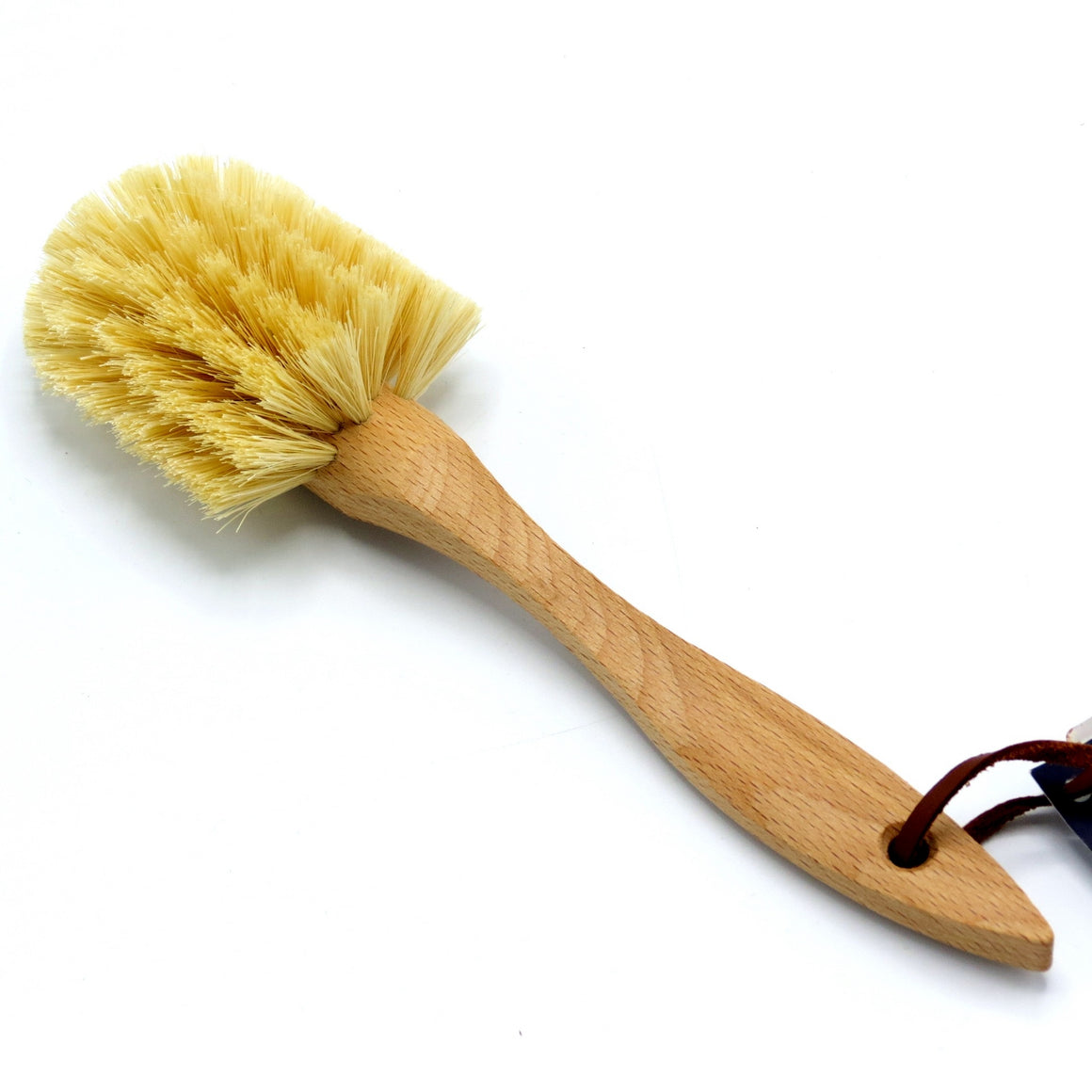 Dish Brush Curved, Oiled Beechwood
