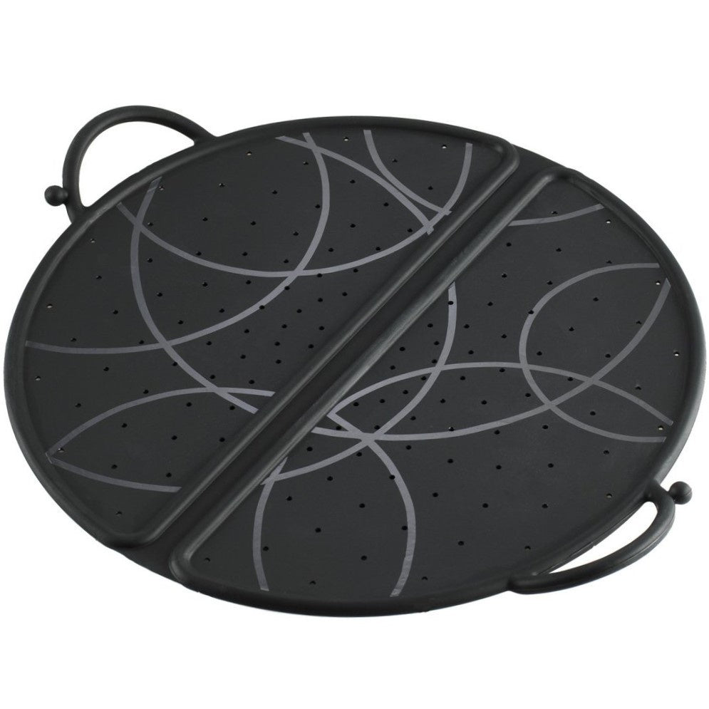 Kuhn Rikon Silicone Splatter Guard - Black
