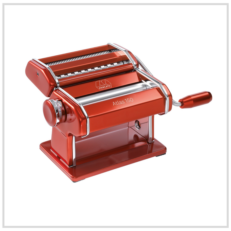 Marcato Atlas 150 Pasta Machine - Red
