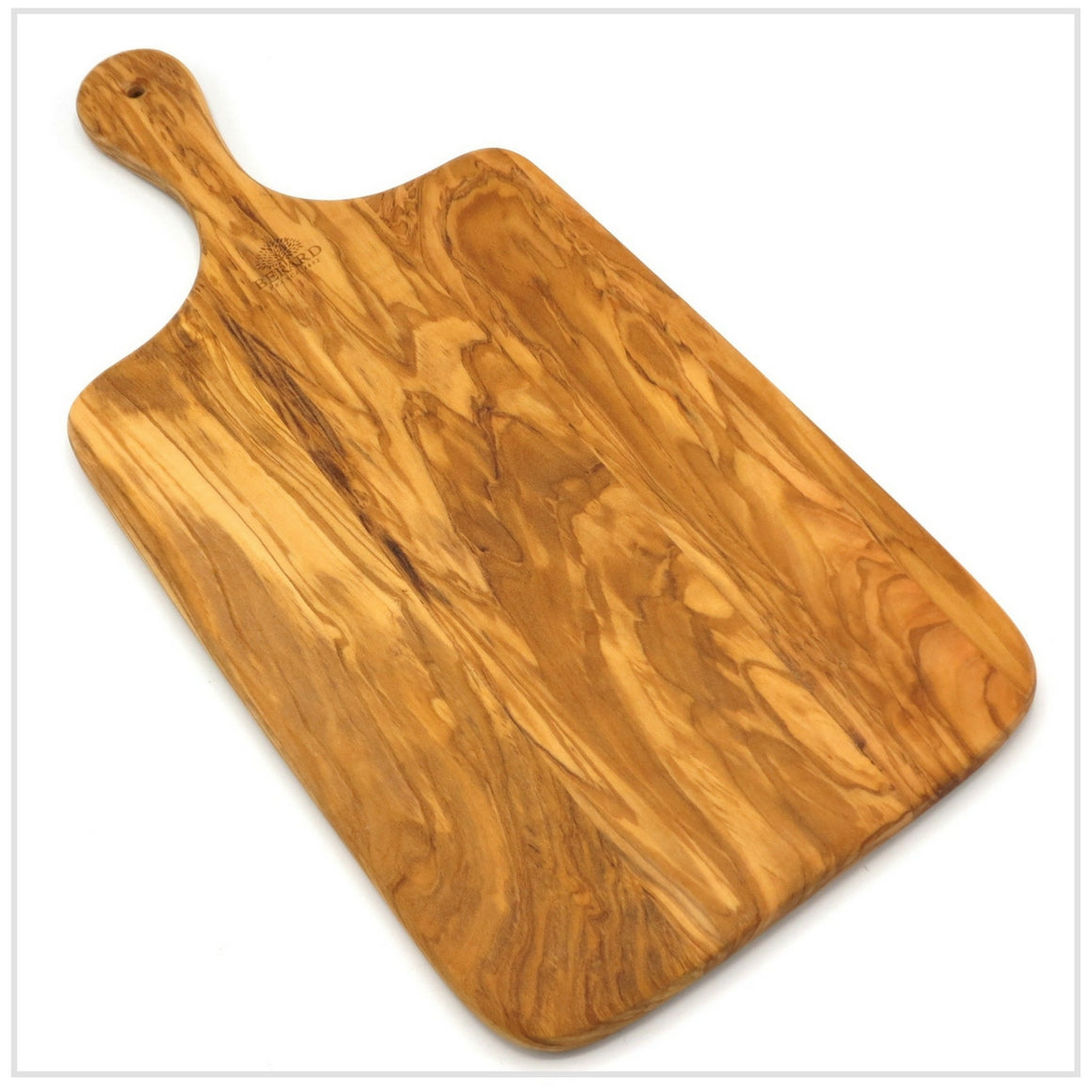Cutting Board with Handle in Olive Wood