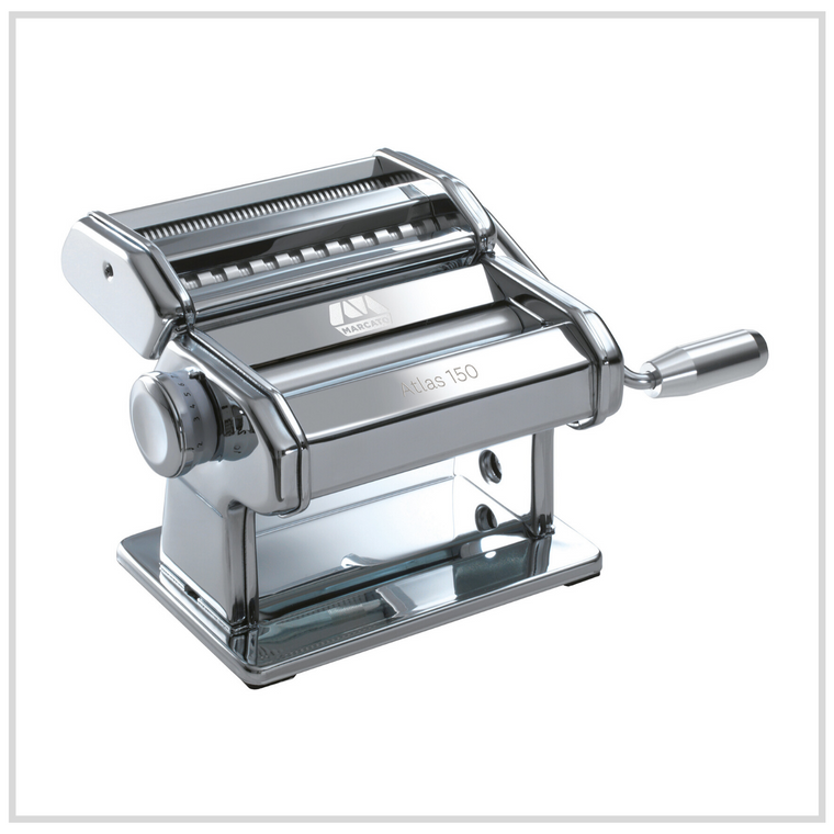 Marcato Atlas 150 Pasta Machine - Chrome Steel