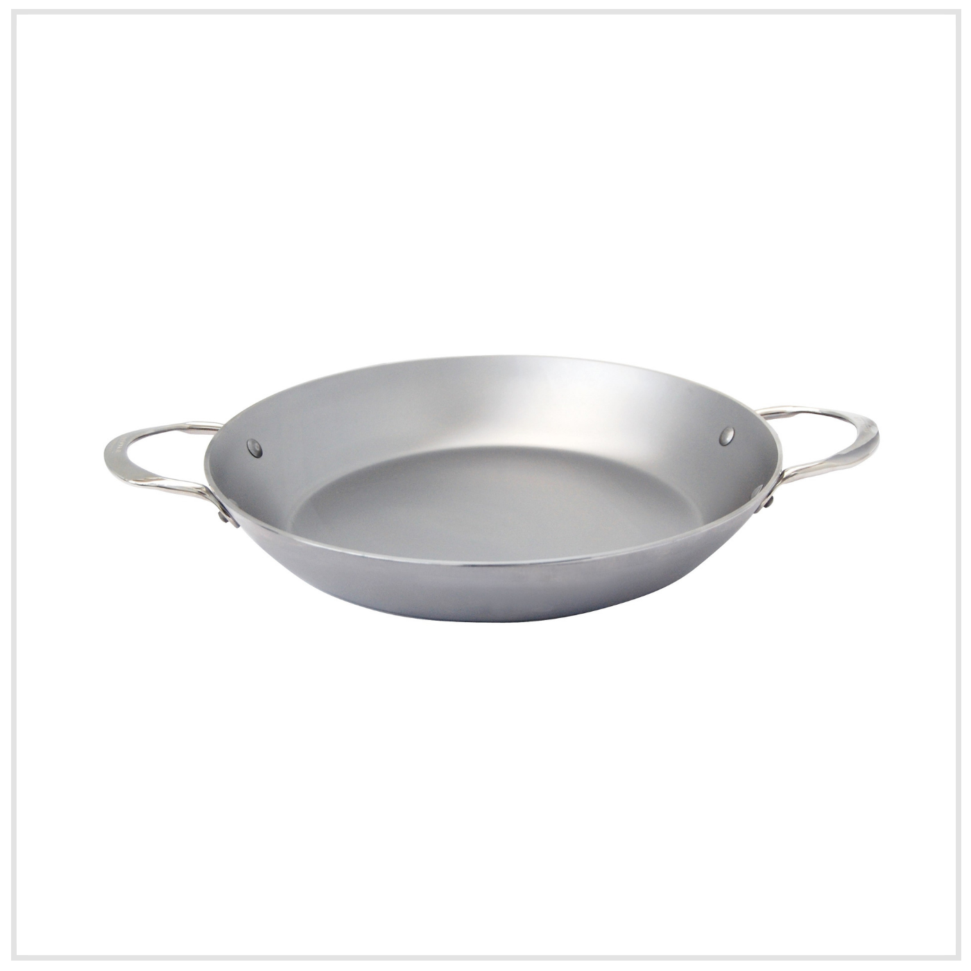 32 cm De Buyer Stainless Steel Grill for Wok Silver