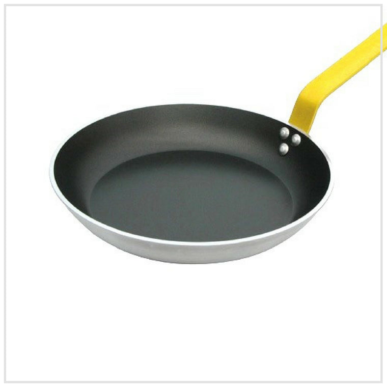 De Buyer Non Stick Frying Pan 24cm YELLOW Handle