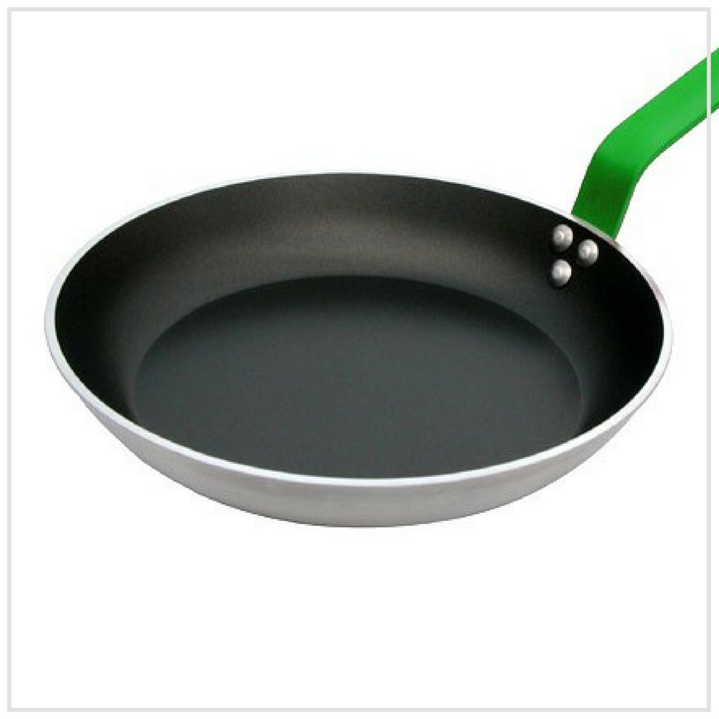 De Buyer Non Stick Frying Pan 32cm GREEN Handle