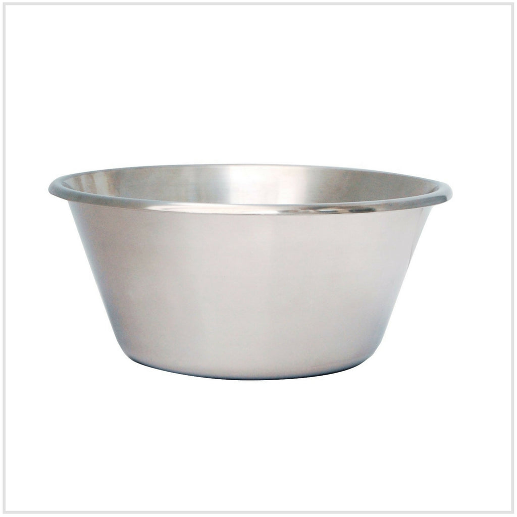 De Buyer Flat Bottomed Steel Bowl - 16cm