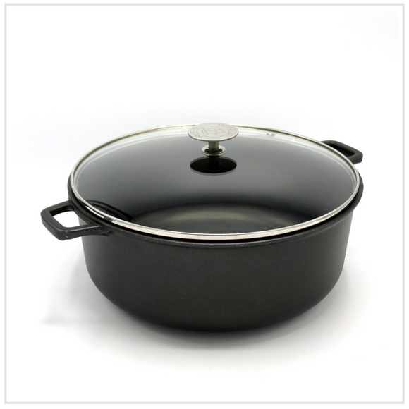De Buyer Lightweight Non-Stick Casserole (24cm)
