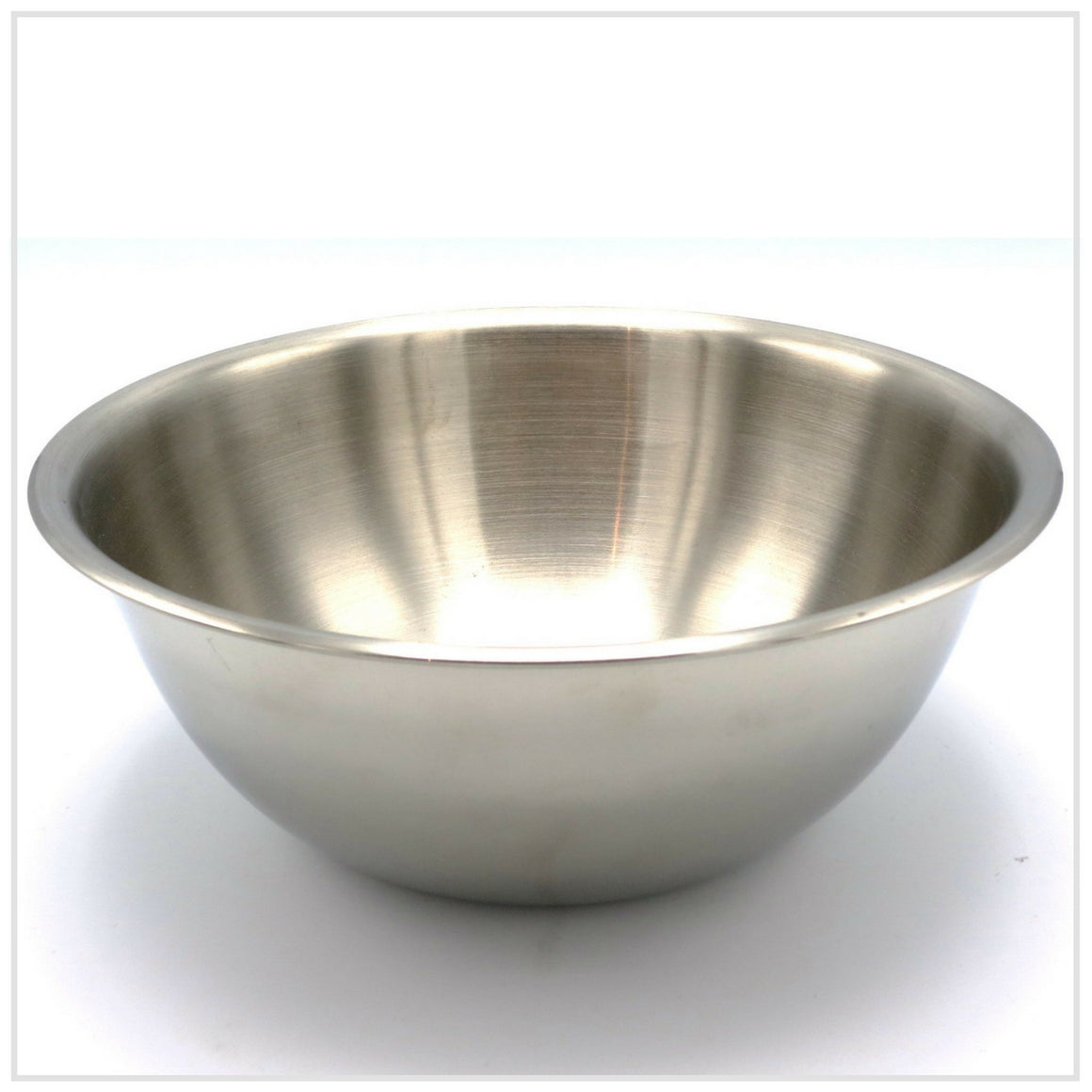 De Buyer Hemispherical Bowl in Stainless Steel 24cm