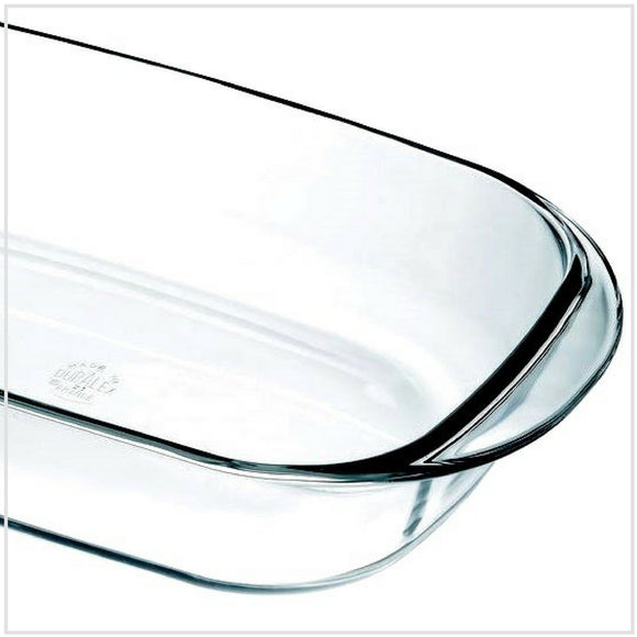Duralex Oven Chef Glass Roasting Dish 38x23cm
