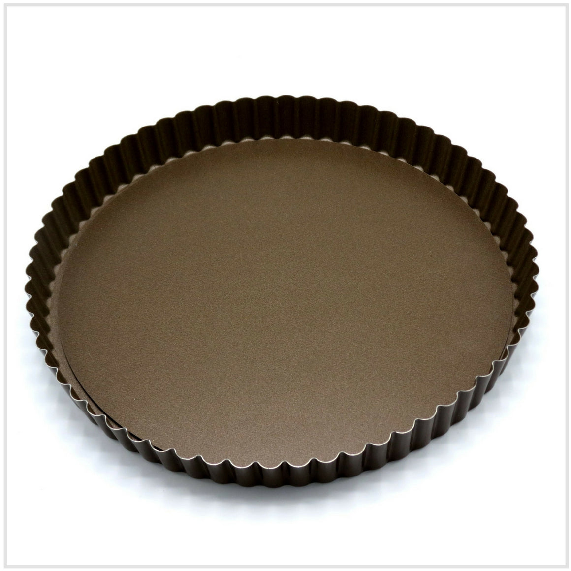 Loose Bottom Round Fluted Tart/Quiche Pan 26cm