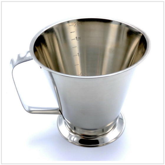 Gobel Stainless Steel Measuring Jug 1ltr