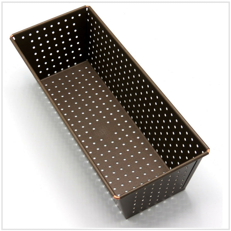 Gobel Non Stick Perforated Crispy Bread Pan (27 x 10.5 cm)