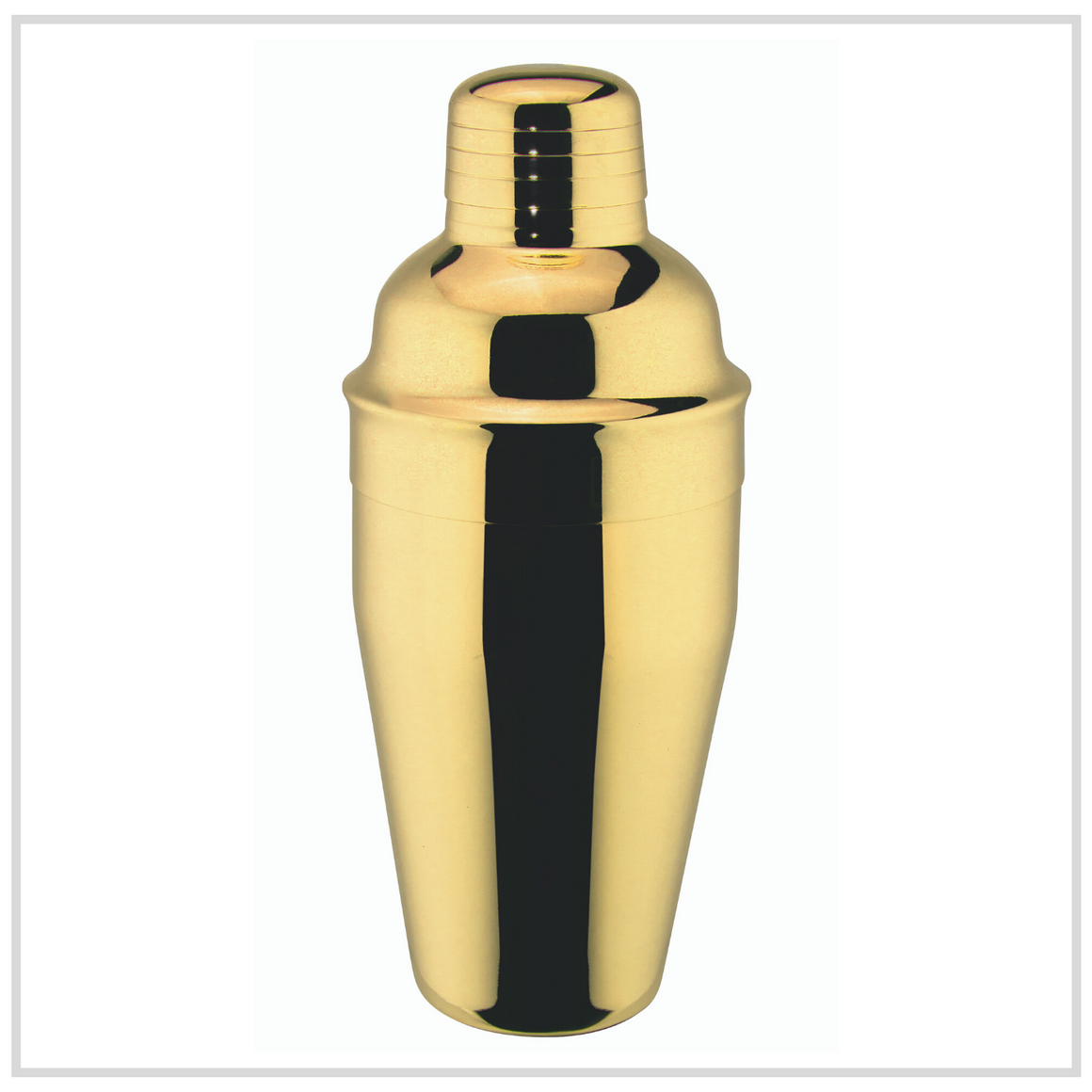 Ilsa Stainless Steel Cocktail Shaker - Gold - 500ml