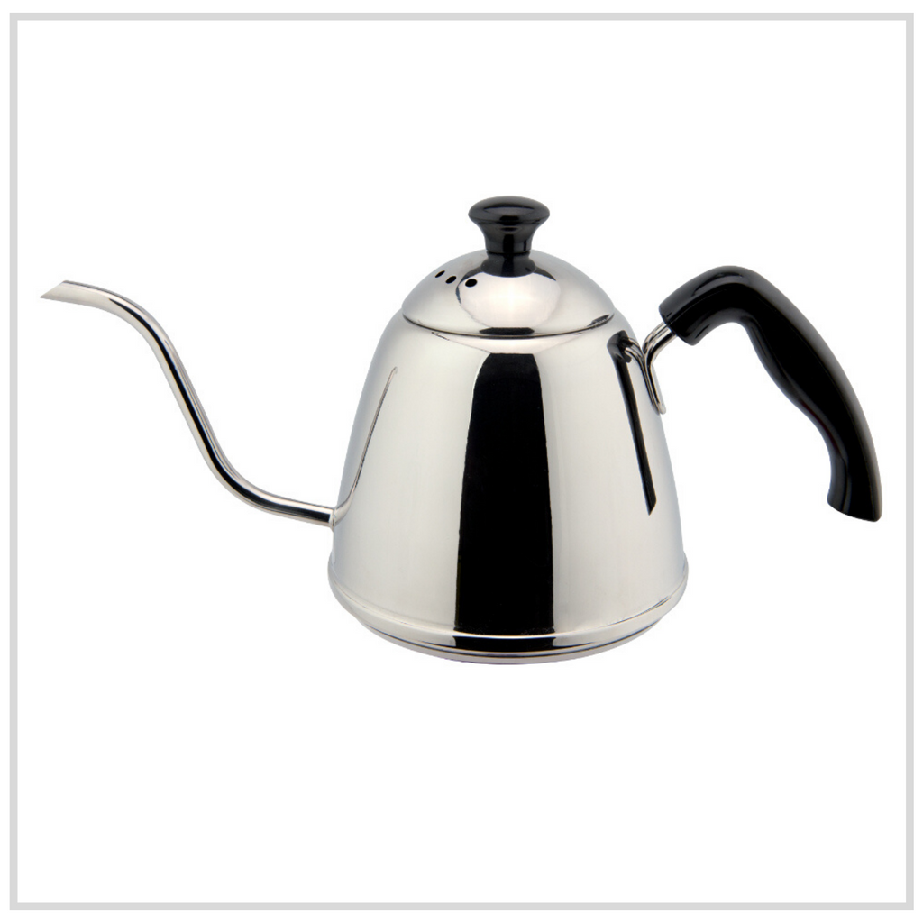 Ilsa Stainless Steel Pour Over Coffee (Goose Neck) Kettle - 900ml