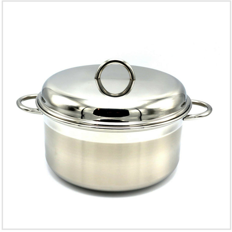 Le Pentole Casserole with Lid 24cm (Two Handles)