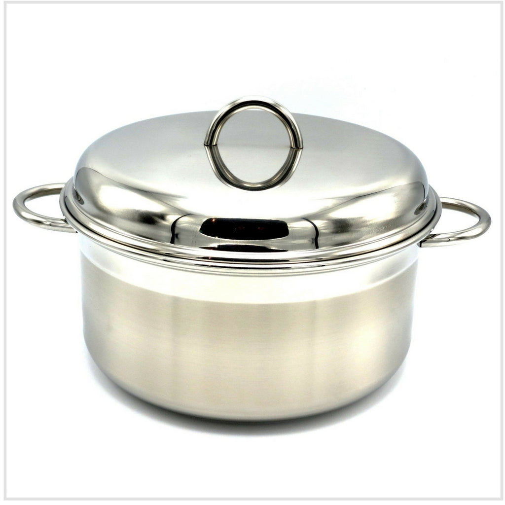 Le Pentole Casserole with Lid 28cm (Two Handles)