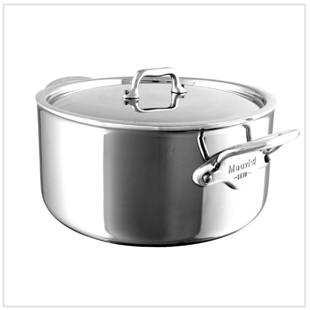 Mauviel M'Cook Casserole 5-Ply Stainless Steel (24 cm)