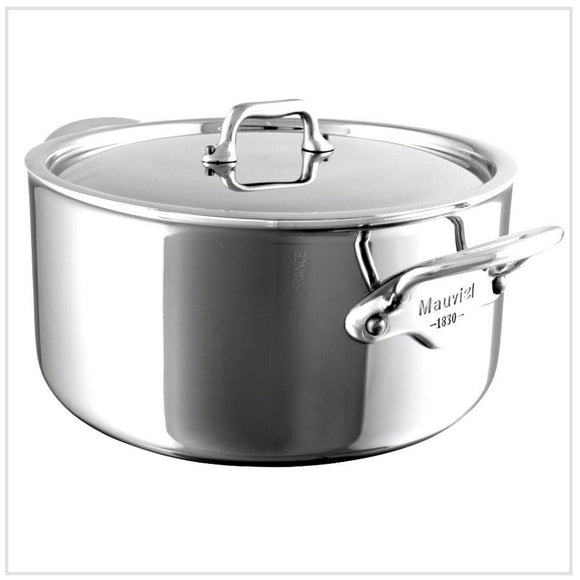 Mauviel M'Cook Casserole 5-Ply Stainless Steel (28 cm)