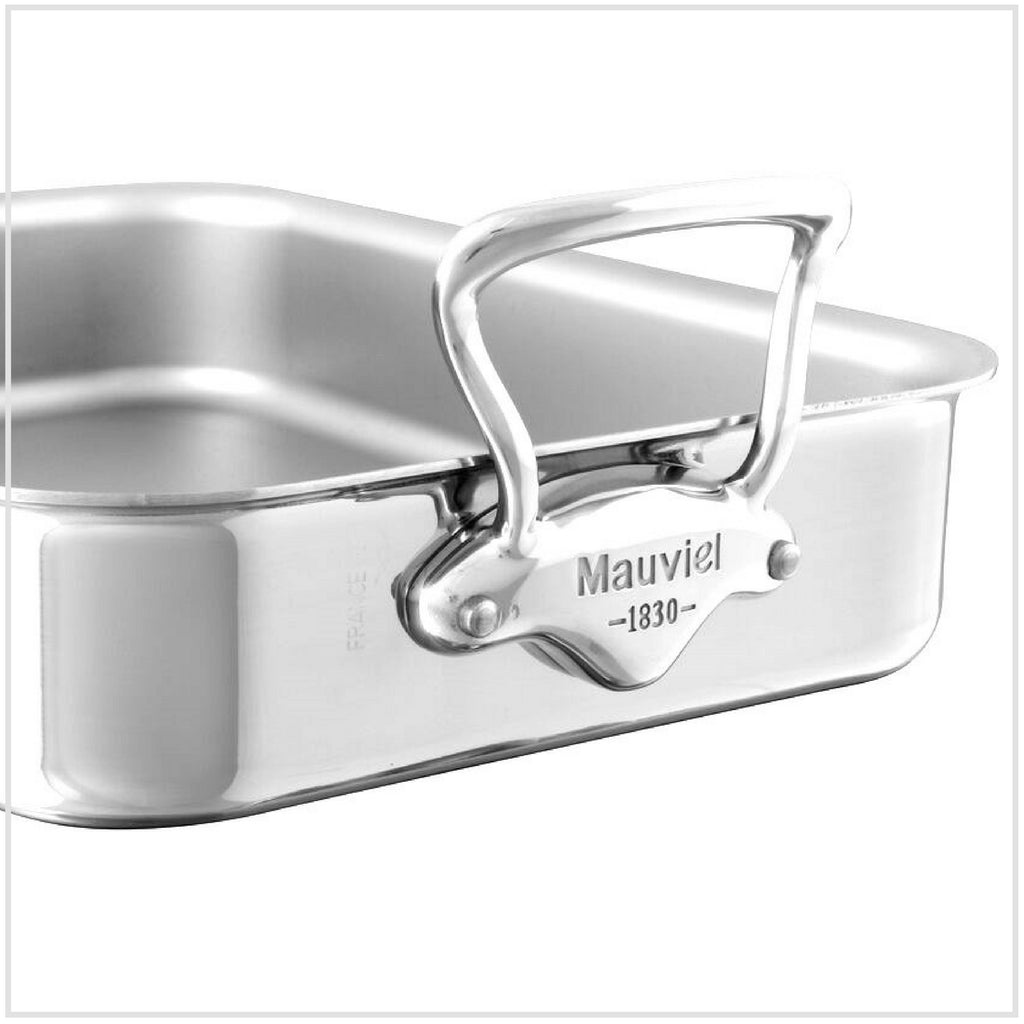Mauviel M'Cook 5-Ply Stainless Steel Roasting Pan 35x25cm