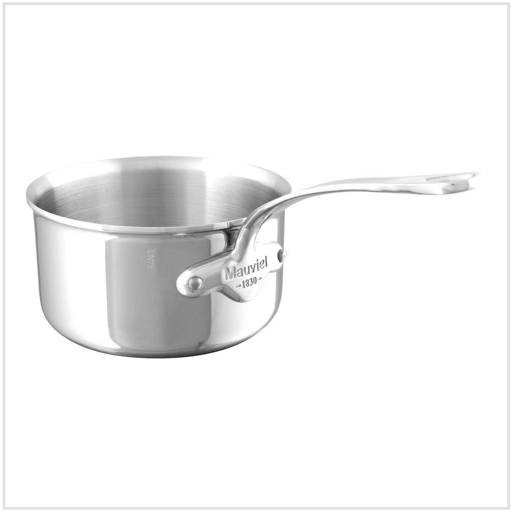 Mauviel M'Cook 5-Ply Stainless Steel Saucepan 14cm