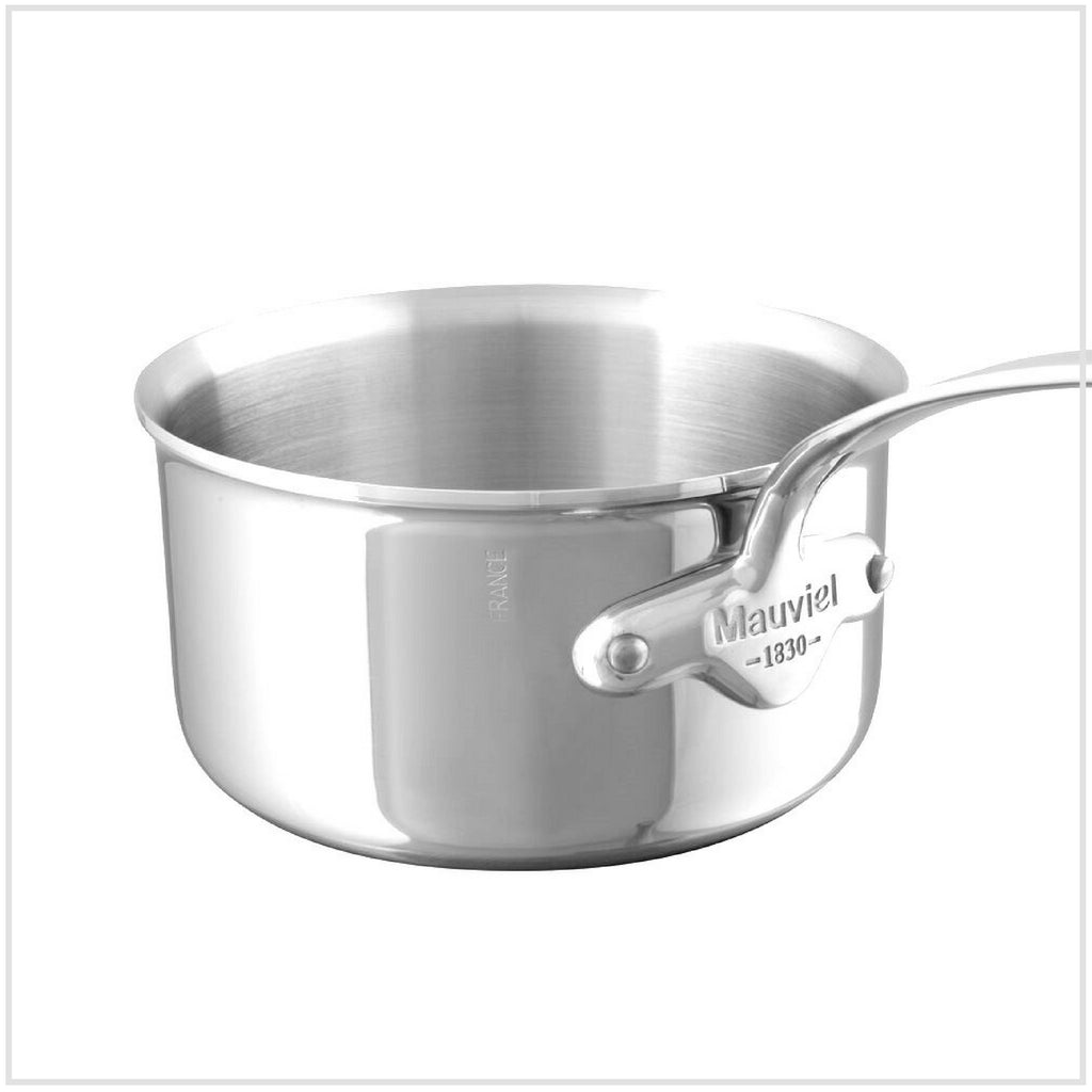 Mauviel M'Cook 5-Ply Stainless Steel Saucepan 16cm