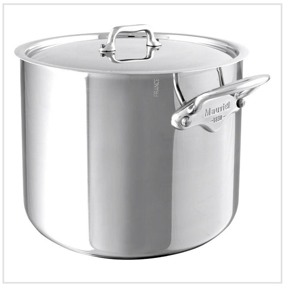 Mauviel M'Cook Stockpot with Lid 24cm