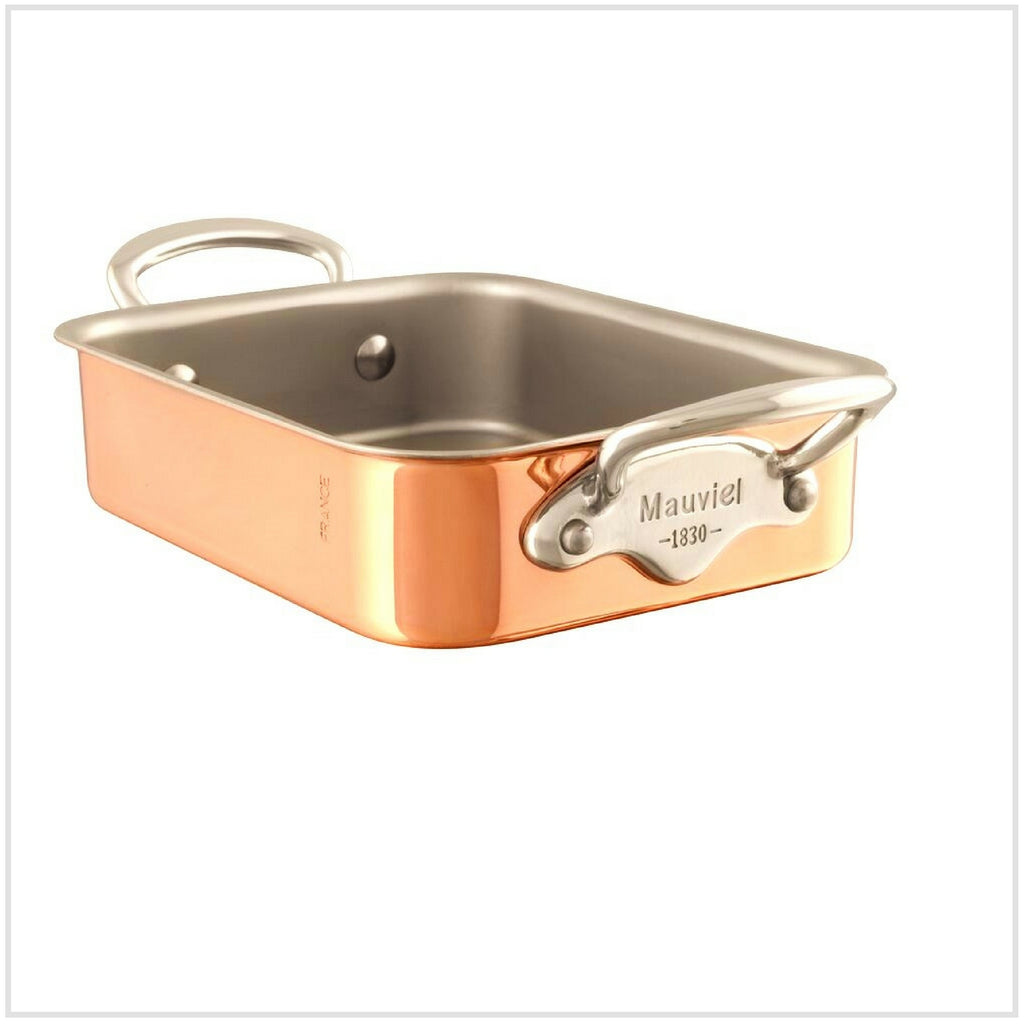 Mauviel M'Mini Copper Roasting Pan 18x14cm