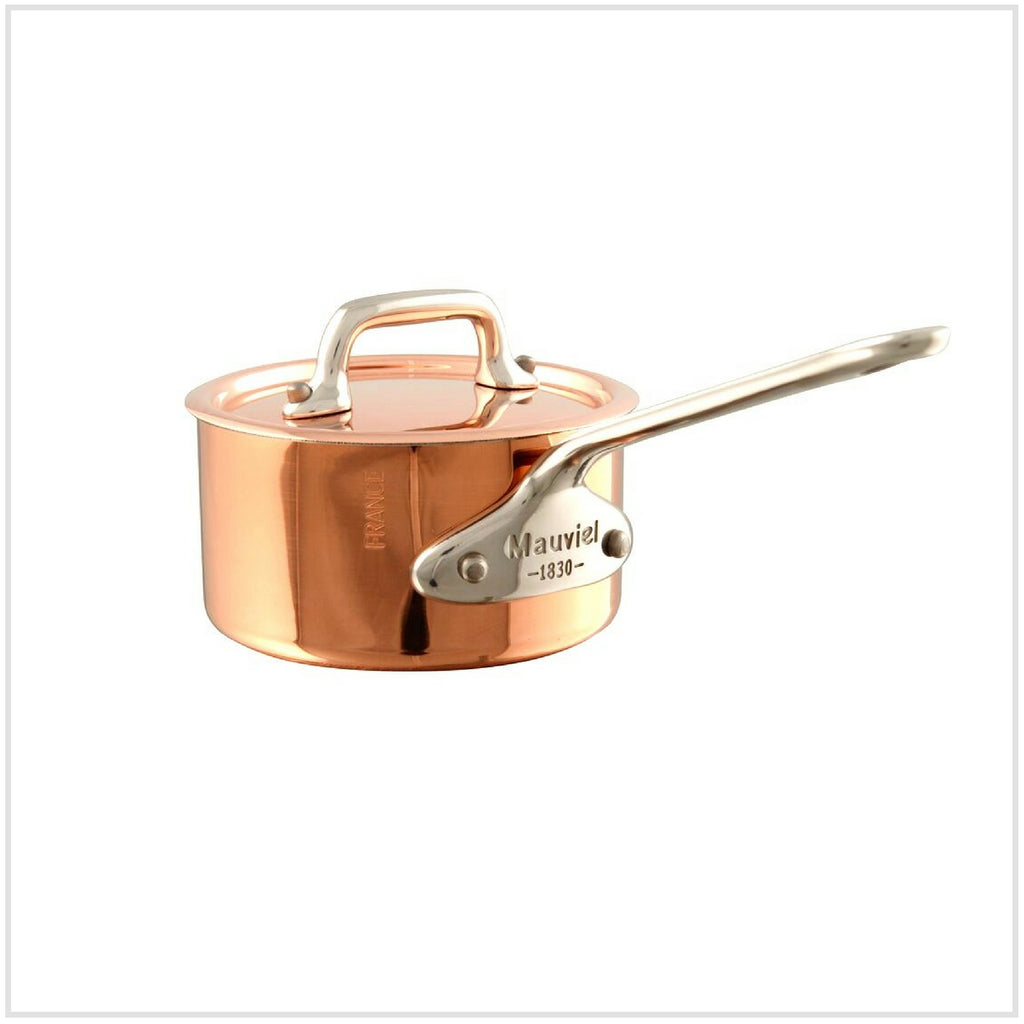 Mauviel M'Mini Copper Saucepan