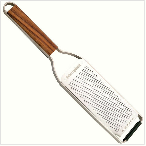 Microplane Master Series Grater Fine with Walnut Handle