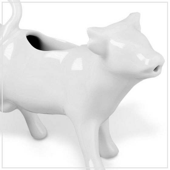 Pillivuyt Porcelain Cow Creamer