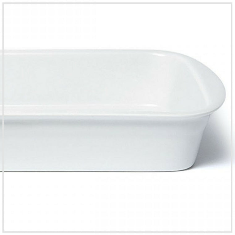 Pillivuyt French Porcelain Lasagna Dish 34x25cm