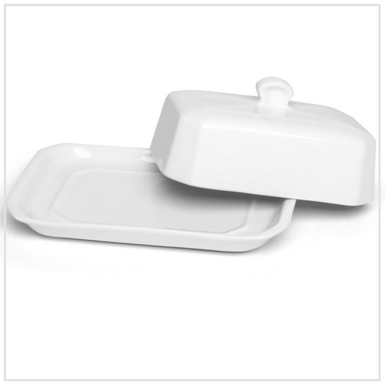 Pillivuyt Butter Tray & Cover Small