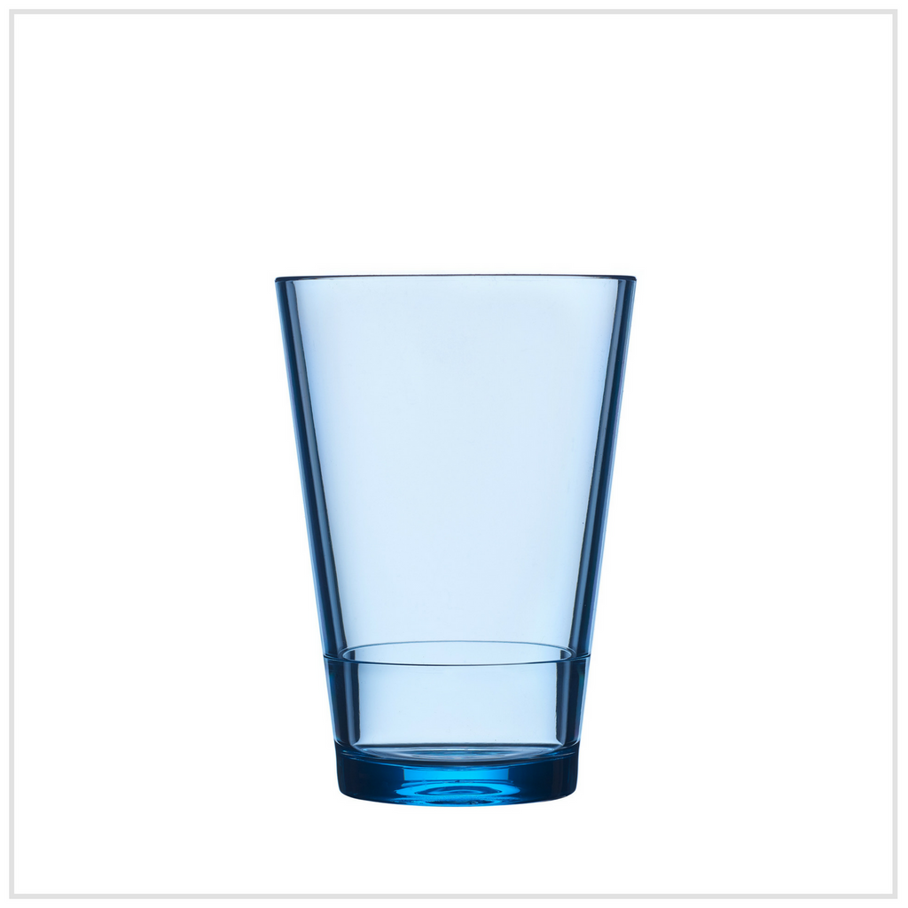 Glass Flow 275 ml - Blue
