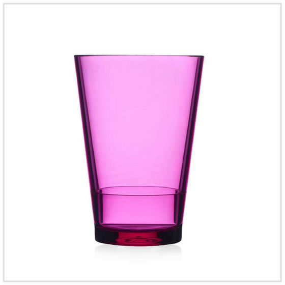 Mepal Glass Flow 275ml - Pink