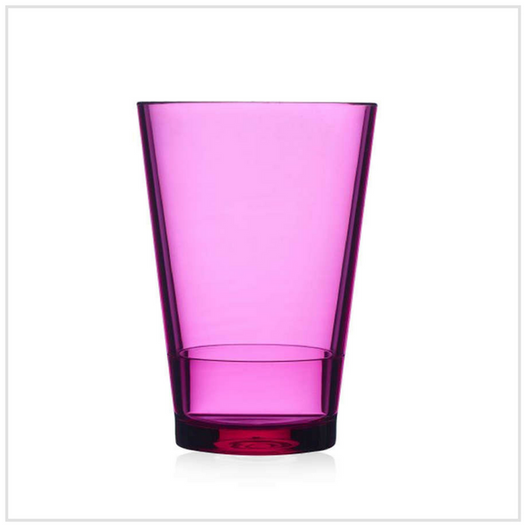 Glass Flow 275ml - Pink