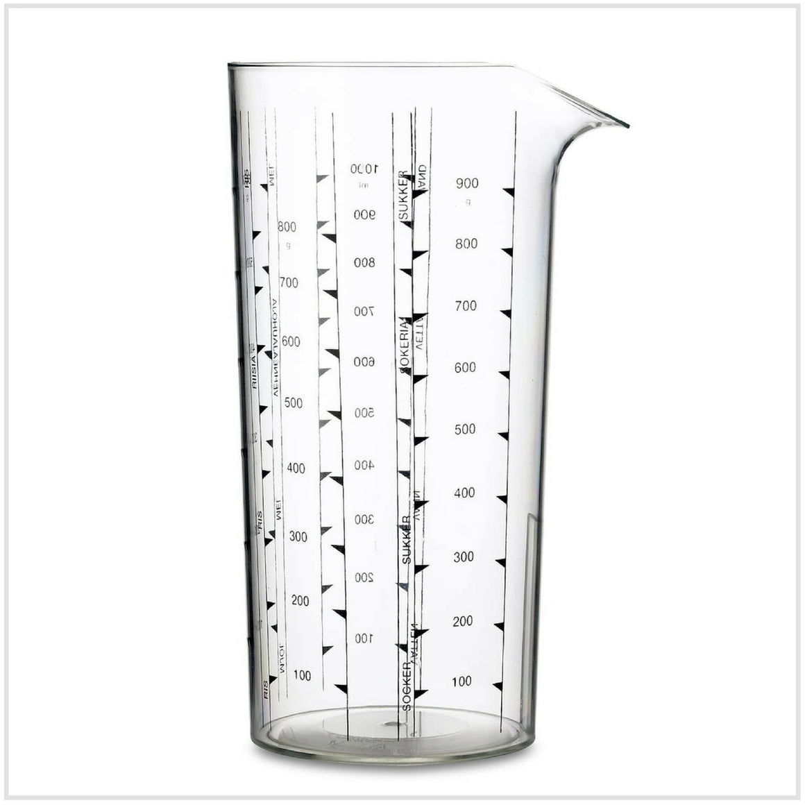 Measuring Cup Clear 1L