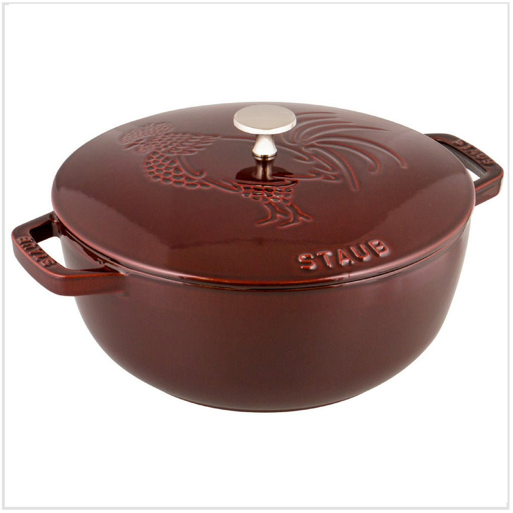 Staub Rooster Cocotte 24cm