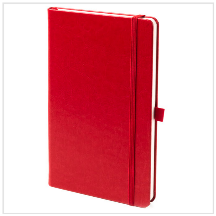Stone - The Chef's Notebook - Red Vegan Leather