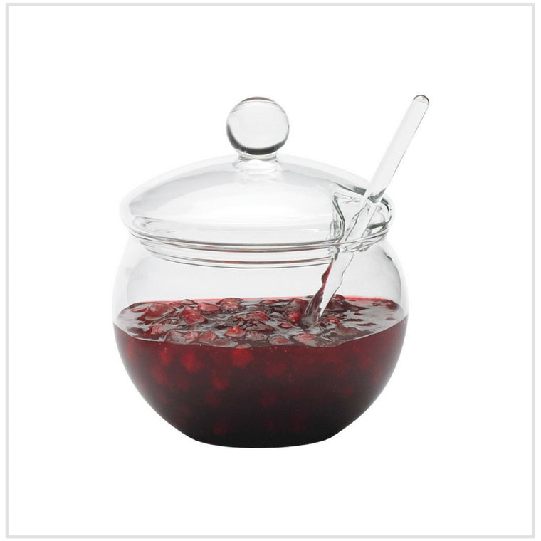 Jam Pot Glass