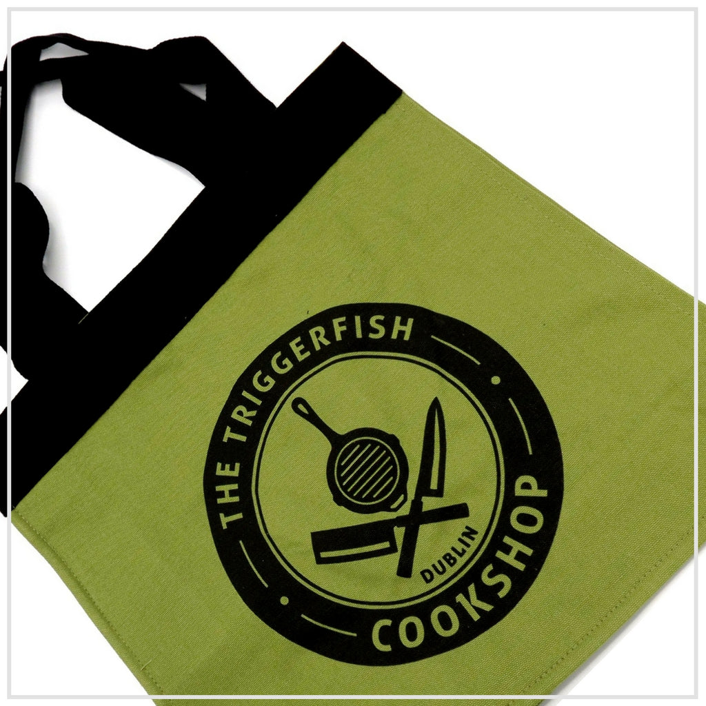 The Triggerfish Cookshop Grocery Bag