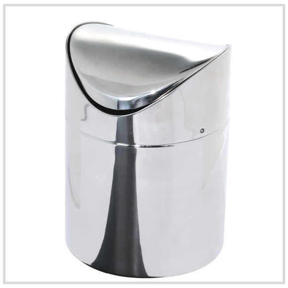 Ilsa Stainless Steel Mini Table Bin