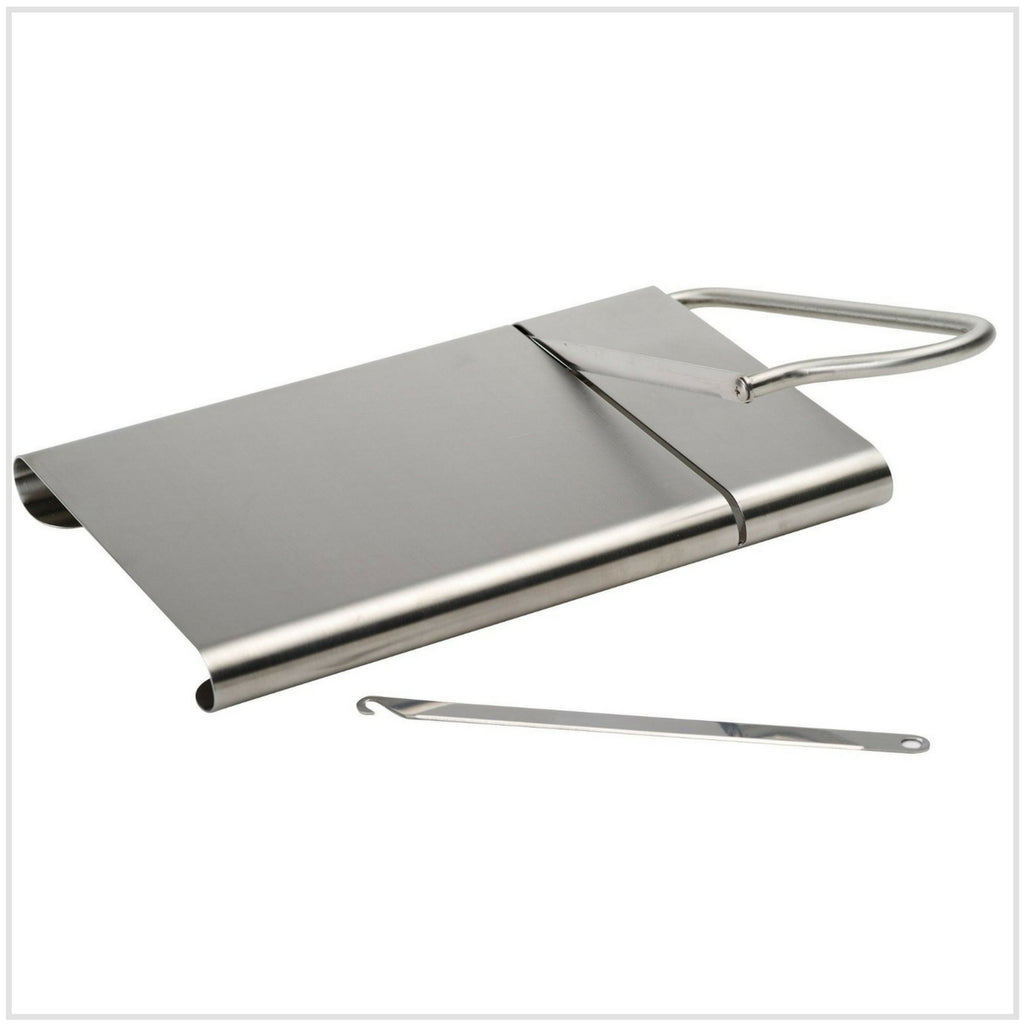 Gobel Wire Cheese Slicer with Serving Board