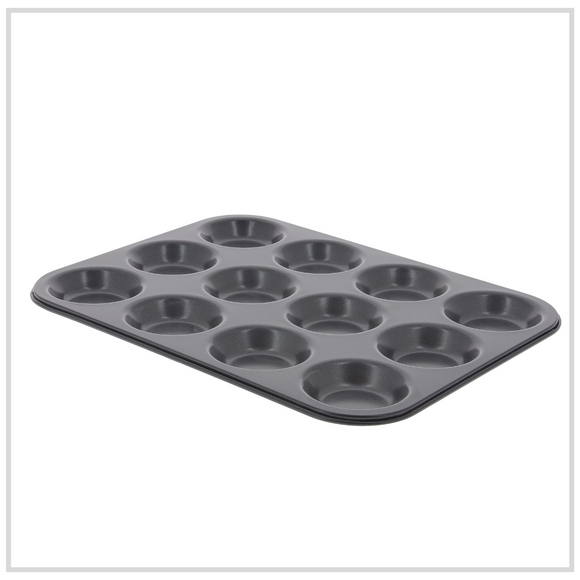 De Buyer Classic Non Stick Muffin Mould - 12 Pan
