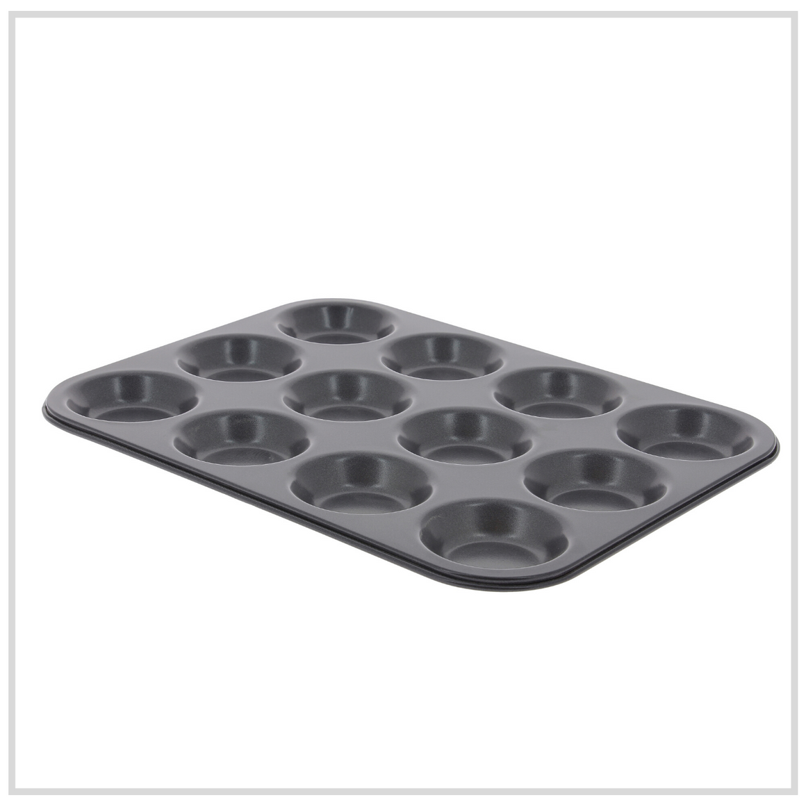 De Buyer Non Stick Muffin Mould - 12 Pan