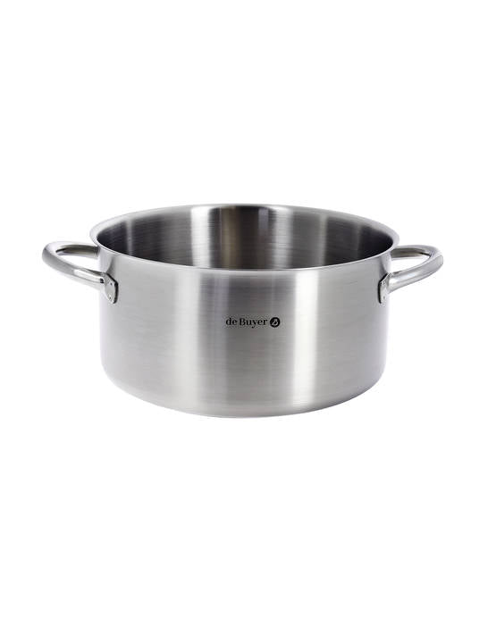 De Buyer Prim Appety Casserole Stainless Steel - 24cm Without Lid