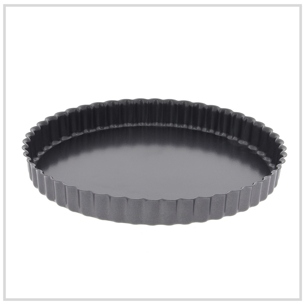 De Buyer Fluted Tart Mould Loose Bottom - 24cm