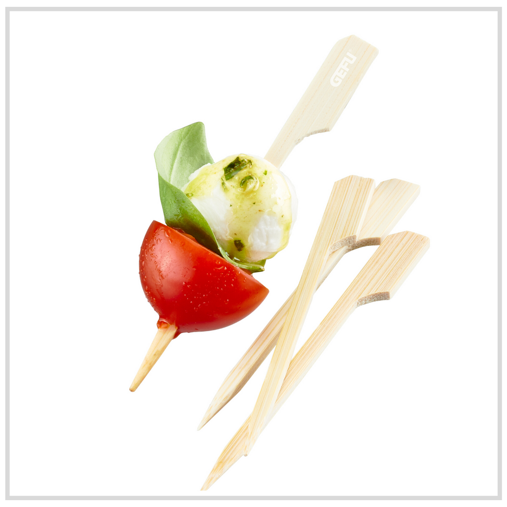Gefu Wooden Skewers 100 Pack - 9cm