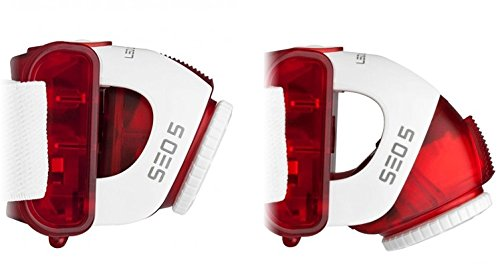 LED Lenser Seo 5 red, High Performance Line, H-Serie, 3xAAA, Blister 6106 - Safaya