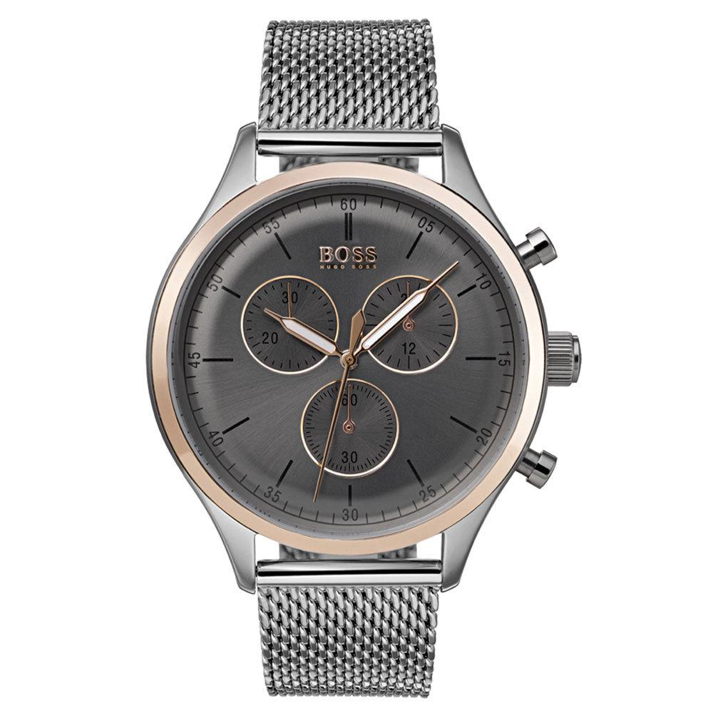 Hugo Boss Men's Companion Chronograph Watch 1513549 - JB Watches