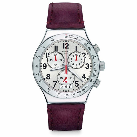 Swatch Men's Destination Roma Chronograph Watch YVS431 - JB Watches