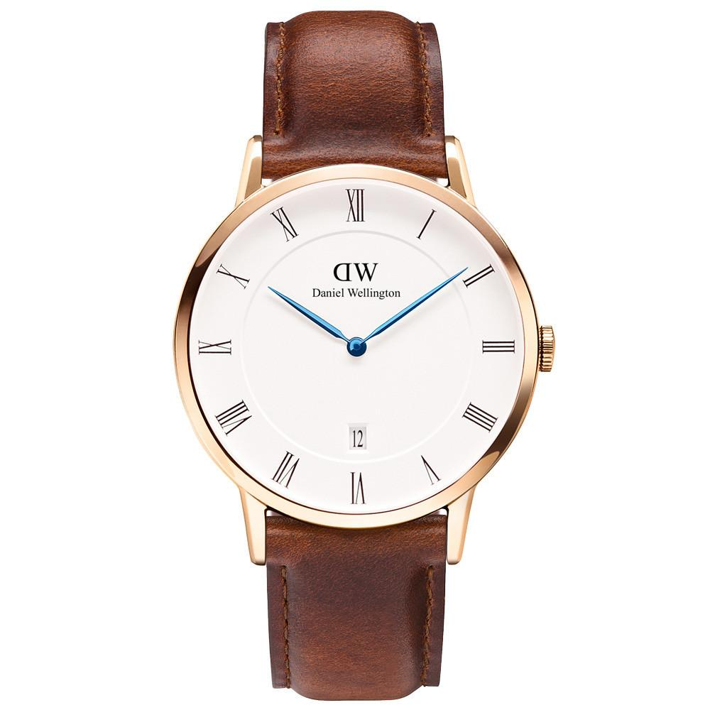 Daniel Wellington Men's St Mawes Dapper 38mm Watch DW00100083 - JB Watches